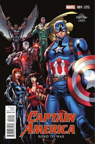 Avengers (2019) 15 Variant Leipzig (03/20)