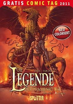 Gratis Comic Tag 2011: Legende der Drachenritter 1