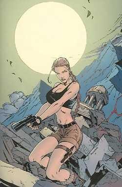 Tomb Raider (MG Publ., Gb) 21 Comicwatch Romano Variant