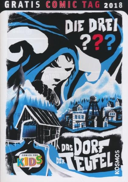 Gratis Comic Tag 2018: Die Drei ???