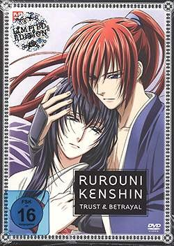 Rurouni Kenshin - Trust & Betrayal DVD
