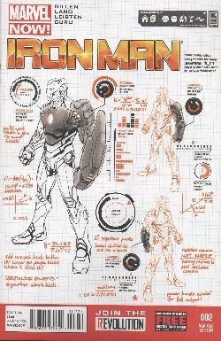 US: Iron Man (2012) 02 1:25 Variant