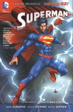 Superman (2011) Vol.2 Secrets and Lies SC