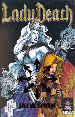 Lady Death Mini-Serie (Chaos!, Gb.) Variant Nr. 2 (Comic Salon Erlangen)