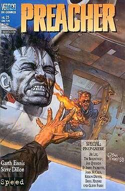 Preacher (Heft) 25 B-Cover