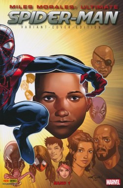 Miles Morales: Ultimate Spider-Man (2015) 01 Variant-Cover