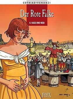 Rote Falke (Finix, B.) Nr. 1-3,8-10 (neu)