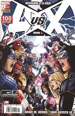 Avengers vs. X-Men 1 Kiosk-Cover
