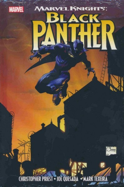 Marvel Knights: Black Panther (2018) HC