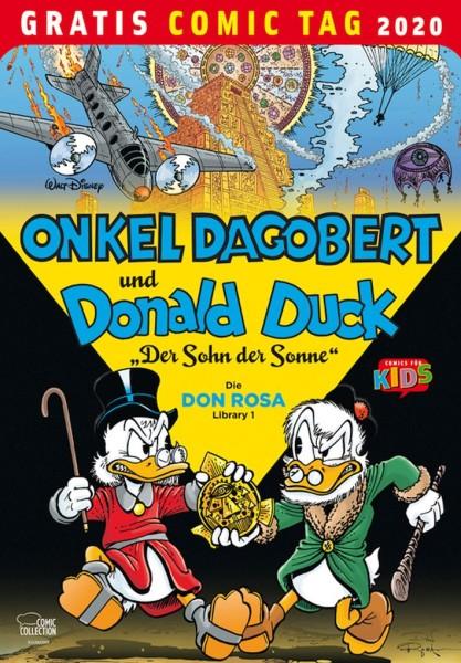 Gratis Comic Tag 2020: Onkel Dagobert und Donald Duck