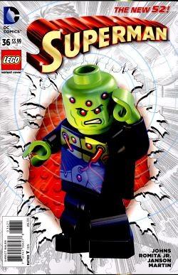 Superman (2011) Lego Variant 36