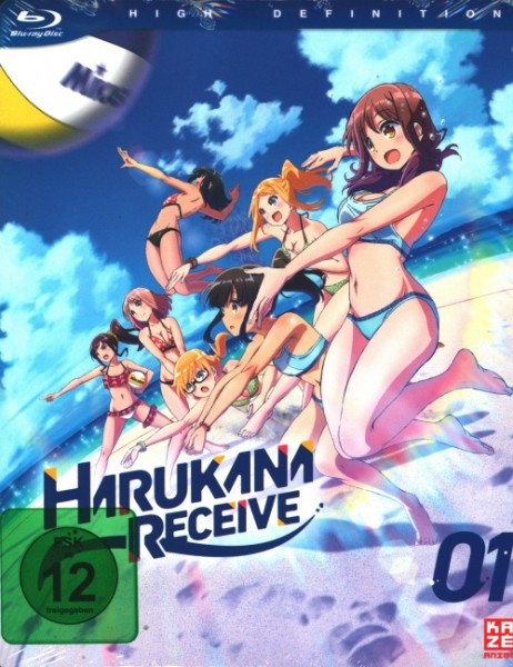 Harukana Receive Vol.1 Blu-ray