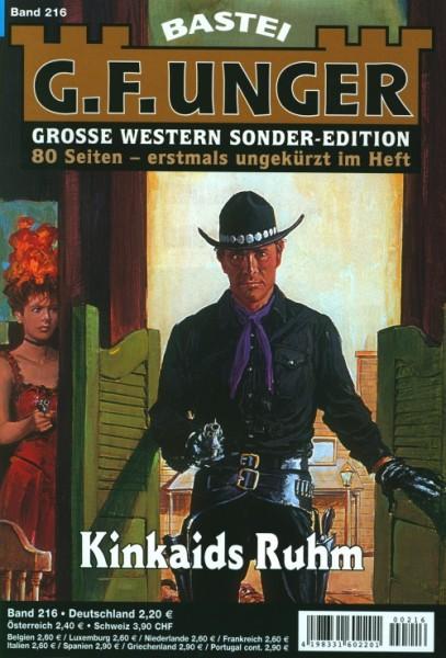 G.F. Unger Sonder-Edition 216