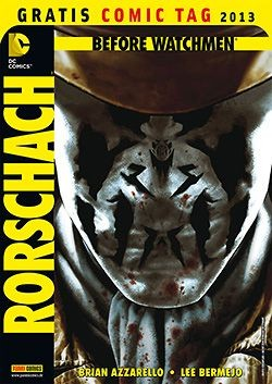 Gratis Comic Tag 2013: Before Watchmen - Rorschach