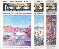 Heinz Brandt (Romanheftreprints, Vorkrieg) Nr. 31-60 zus. (neu)