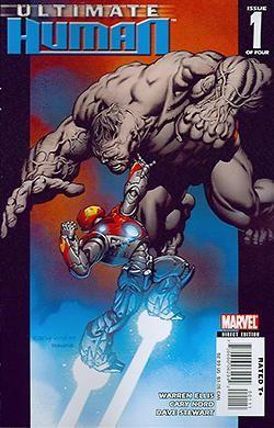 Ultimate Hulk vs Iron Man - Ultimate Human 1-4