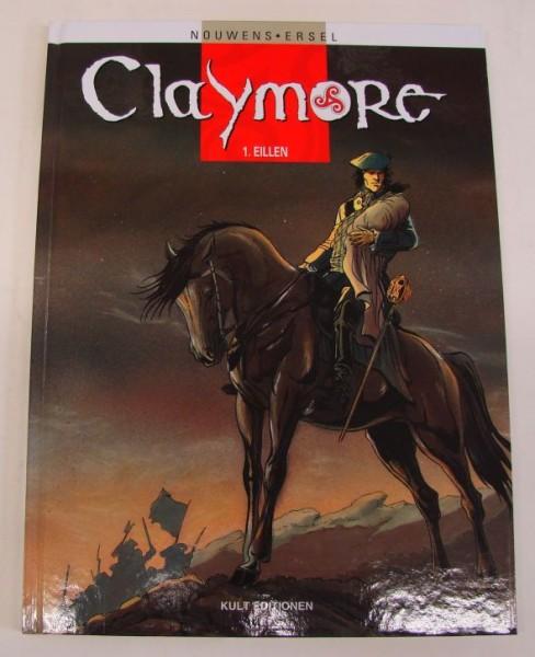 Claymore (Kult Editionen, B.) Nr. 1-3 kpl. (Z1-2)