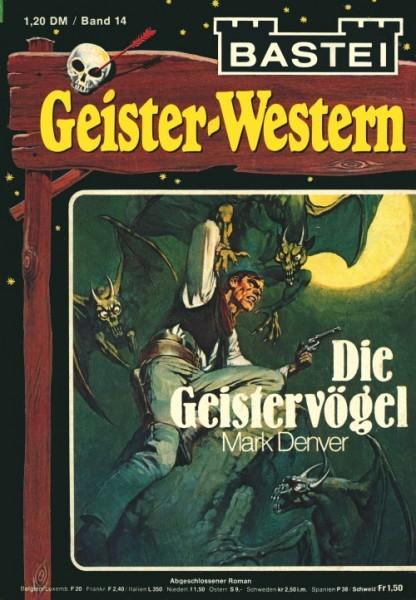 Geister-Western (Bastei) Nr. 1-30 kpl. (Z2-3)