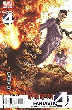 Dark Reign - Fantastic Four 1-5