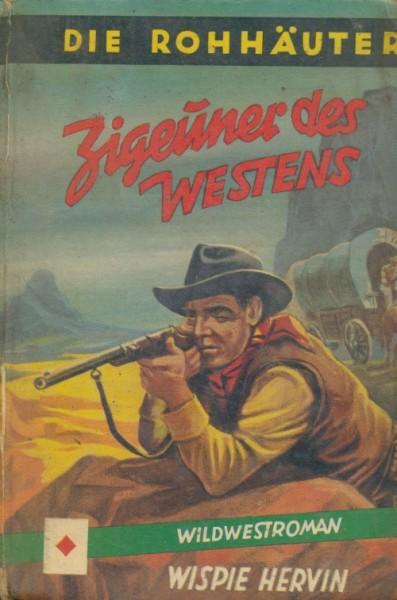 Hervin, Wispie Leihbuch Zigeuner des Westens (Pfriem)