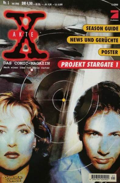 Akte X - Die unheimlichen Fälle des FBI (Carlsen, Br.) Nr. 1-8