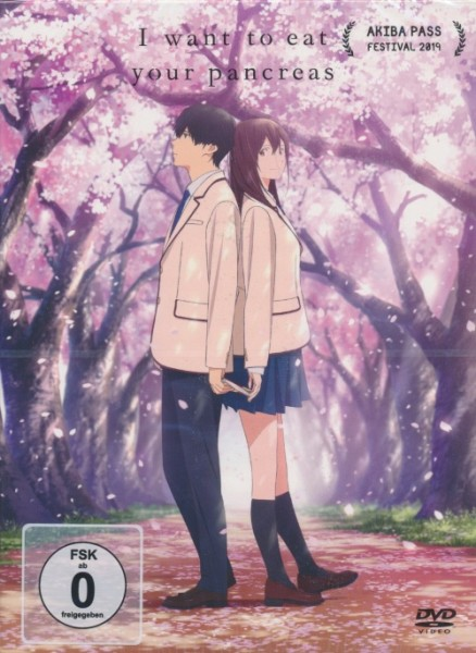 I want to eat your pancreas Vol. 1 DVD
