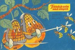 Frösi (Junge Welt, GbÜ.) Jhrg. 1963 Nr. 1-12
