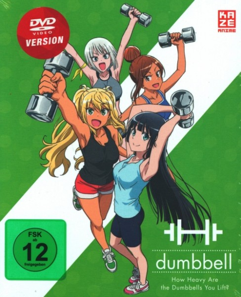 How Heavy Are The Dumbbells You Lift? Vol.1 DVD + Sammelschuber