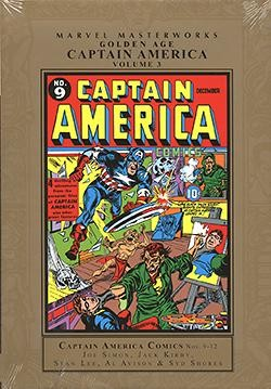 US: Marvel Masterworks: Golden Age Captain America Vol.3