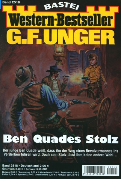 Western-Bestseller G.F. Unger 2518