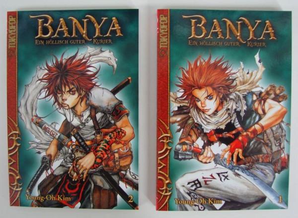 Banya (Tokyopop, Tb.) Nr. 1-5 kpl. (Z1-)