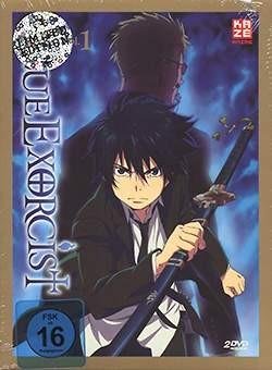 Blue Exorcist Vol. 1 DVD