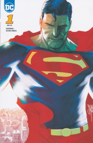 Superman: Action Comics 01 Variant