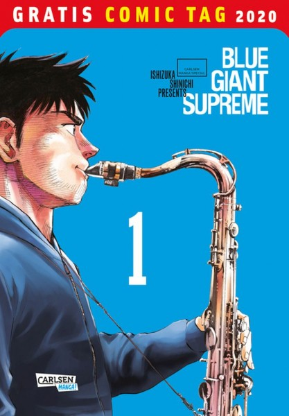 Gratis Comic Tag 2020: Blue Giant Supreme (05/20)