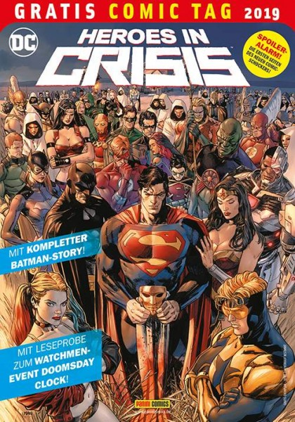 Gratis Comic Tag 2019: Heroes in Crisis
