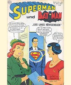 Superman (Ehapa, Gb.) Jahrgang 1967 Nr. 4 (5+6)