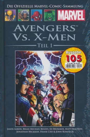 Offizielle Marvel-Comic-Sammlung 105: Avengers vs. X-Men - Teil 1 (78)