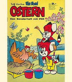 Fix und Foxi Sonderheft (Pabel, Gb.) Ostern 1960-1979
