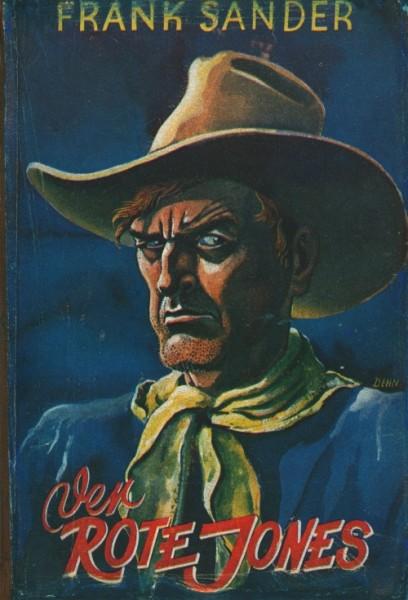 Burmester's Abenteuer-Serie LB VK Rote Jones (Burmester) Leihbuch Vorkrieg Sander, Frank