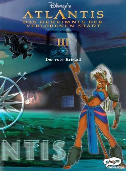 Atlantis (Ehapa,B.) Das Geheimnis der verlorenen Stadt Nr. 1-3