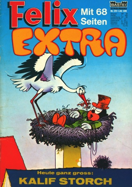 Felix Extra (Bastei, Gb.) Nr. 1-31