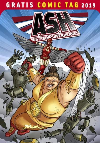 Gratis Comic Tag 2019: Austrian Superheroes