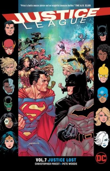 Justice League PB Rebirth (2017) 6 HC (03/20)