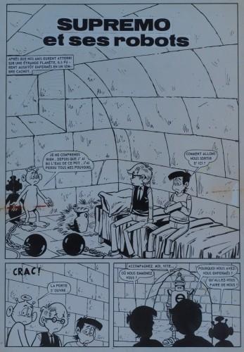 Originalzeichnung (0294) Kiko-2000 10 Seiten zus.