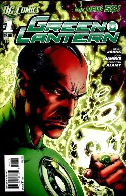 Green Lantern (2011) 1st Printing 1