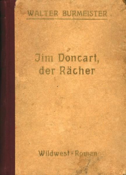 Burmeister, Walter Leihbuch Jim Doncart der Rächer (Bach)