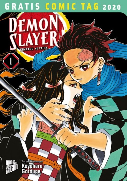 Gratis Comic Tag 2020: Demon Slayer (05/20)
