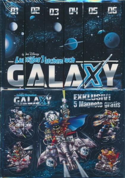 Lustiges Taschenbuch Galaxy 1-6 im Schuber