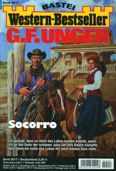 Western-Bestseller G.F. Unger 2517