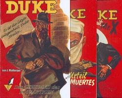 Duke (Romanheftreprints, Österreich) Nr. 1-9 kpl. (neu)